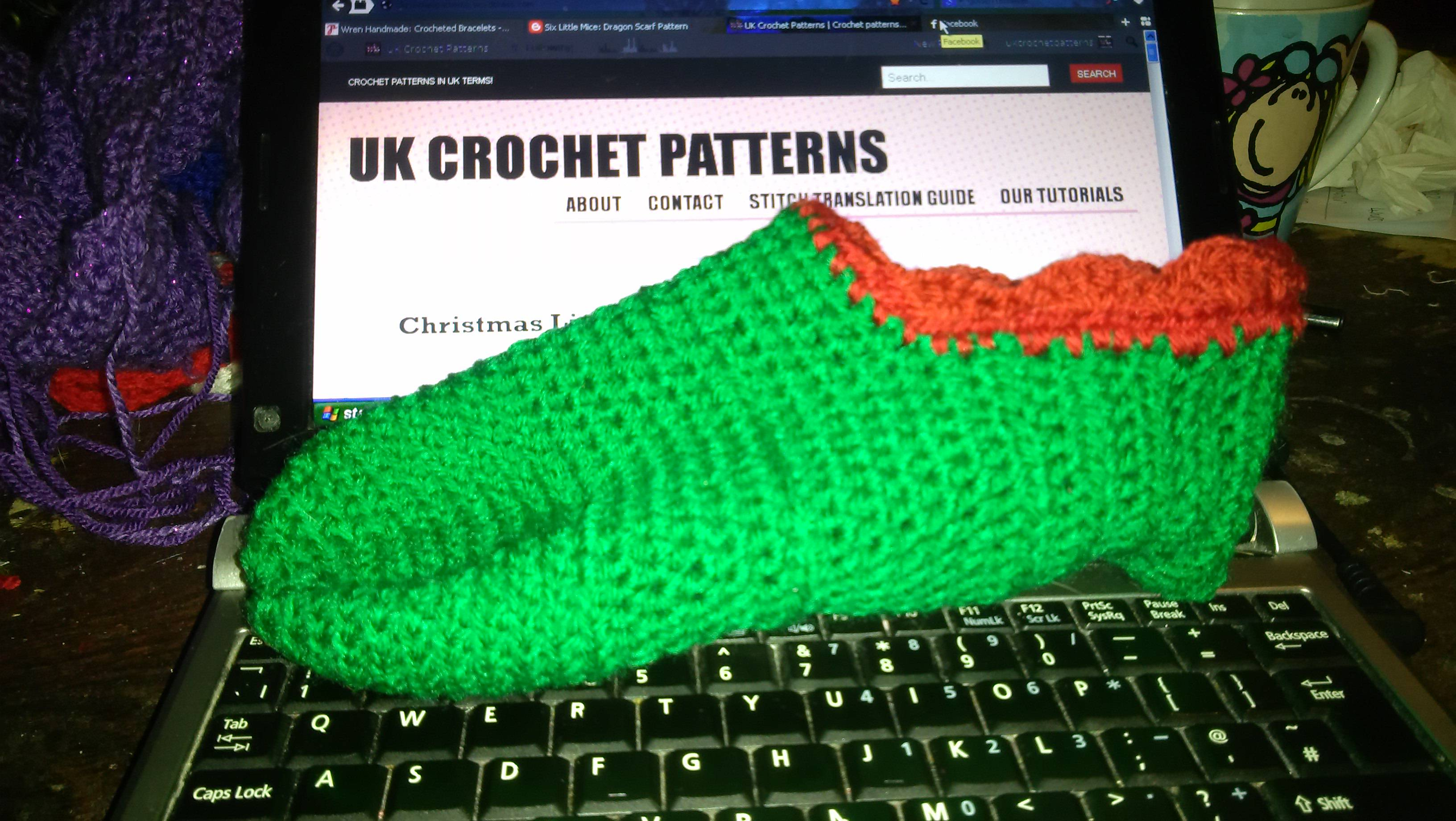 Crochet christmas slippers free pattern uk crochet patterns img20131121182703 bankloansurffo Choice Image