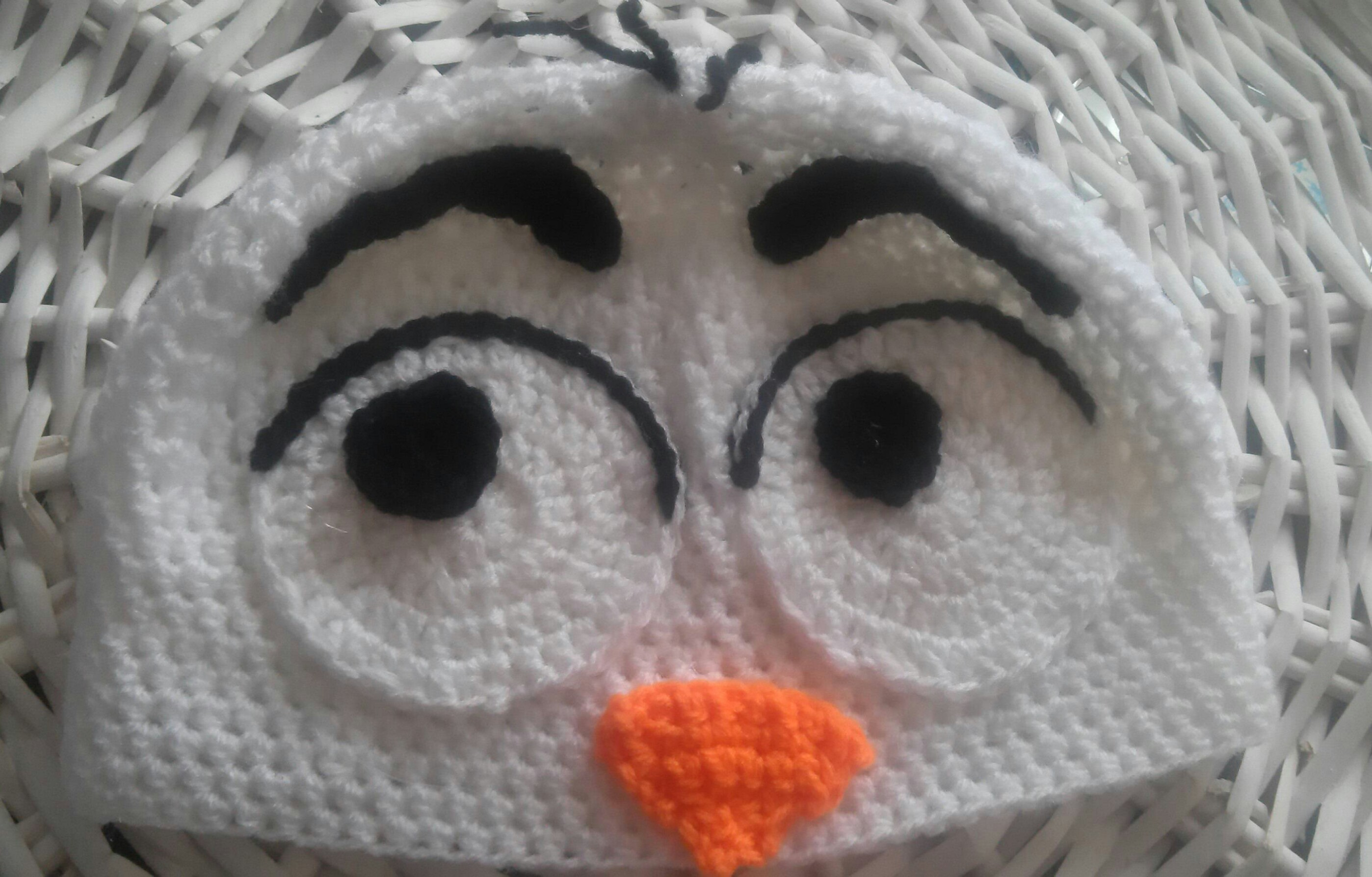 201430 Free Pattern Snowman Hat Inspired By Olaf From Frozen Uk