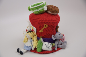Crochet Crowd Mad Hatter Contest
