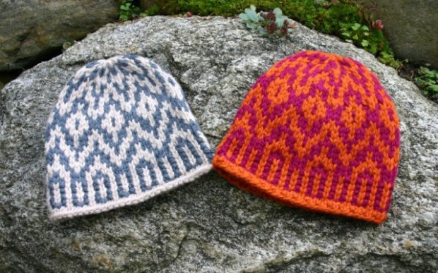 Supernova Hat, a Fair Isle / Norwegian knitting design by Mary Ann Stephens
